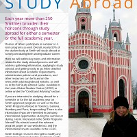 2 Smith College studyabroad booklet inside page