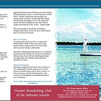 4 fold brochure front for fishing club