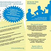 Four fold brochure front for nonprofit